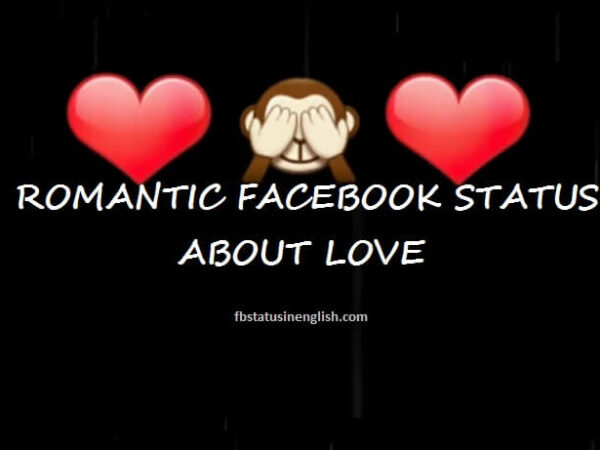 facebook status about love