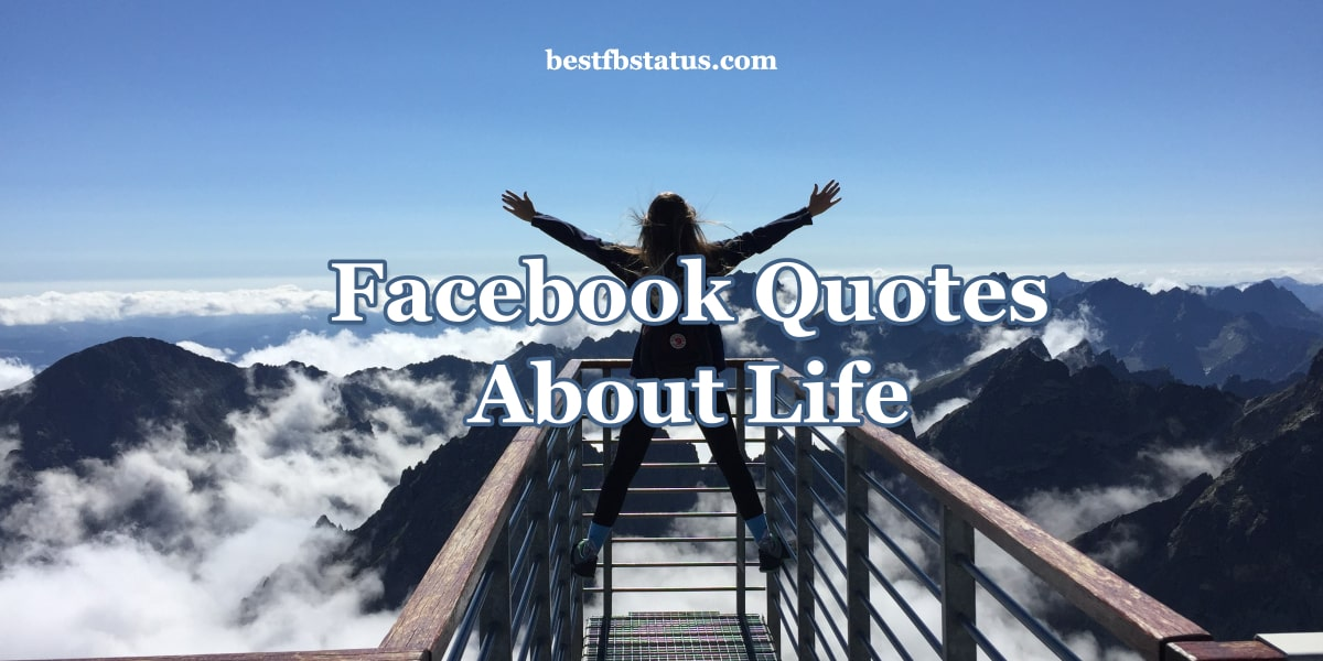 Facebook Quotes About Life Lessons