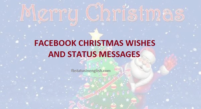 facebook christmas wishes message