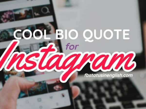bio quotes for instagram