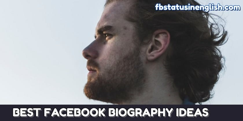 50 Best Facebook Biography Ideas