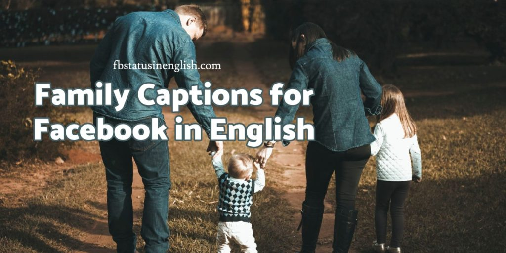 Family Captions for Facebook